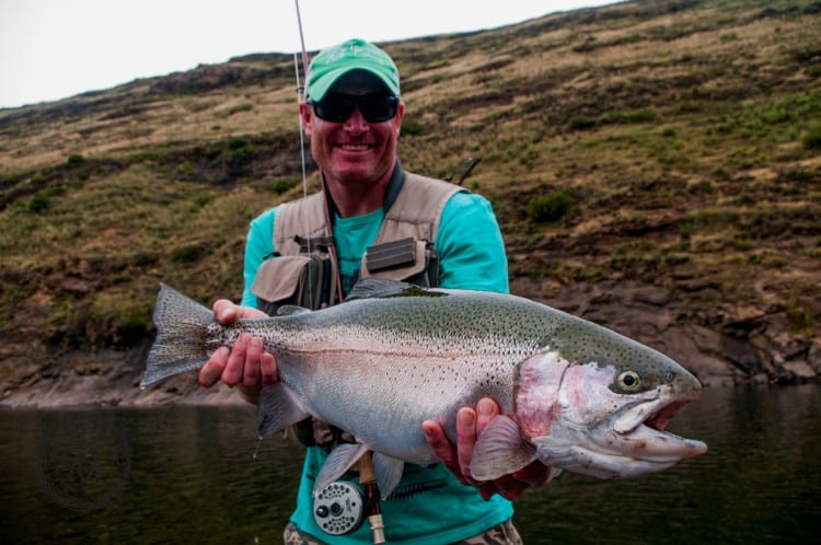 Now that is a rainbow! LesothoTrout (4 of 15)