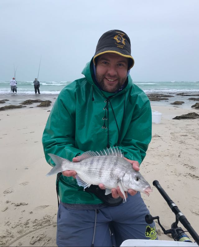 Pretty rough conditions. Tagged and released after the photo
