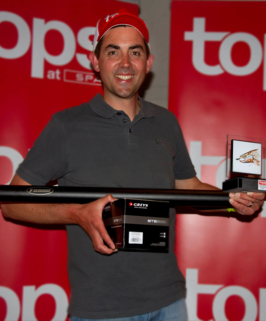 Biggest Fish & Top Fly Fisher - Gavin Cowell