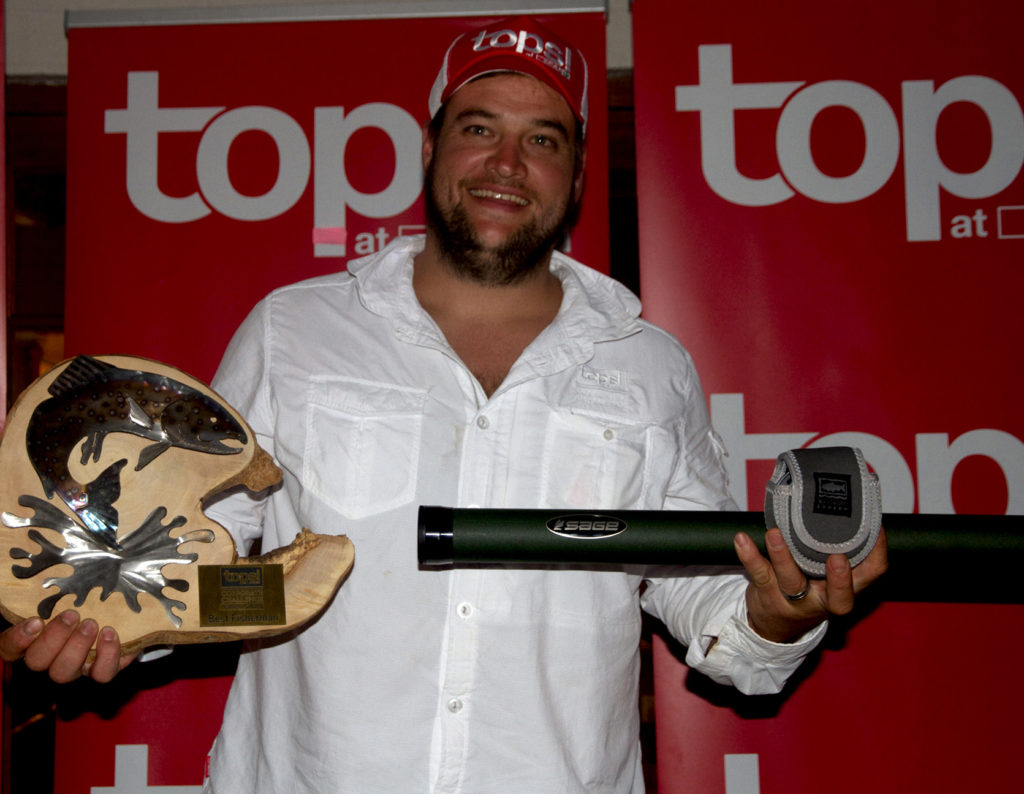 John Larter - The Best Fly Fisher for the TOPS Corporate Challenge.